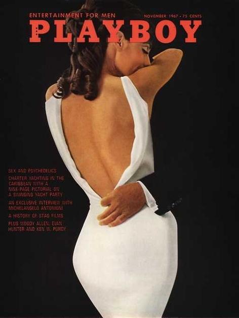 Playboy magazine cover November 1967