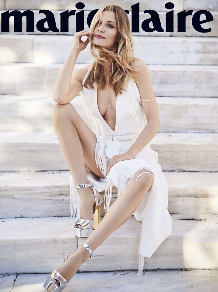 Marie Claire Magazine Greece, February 2016 - Vicky Kaya