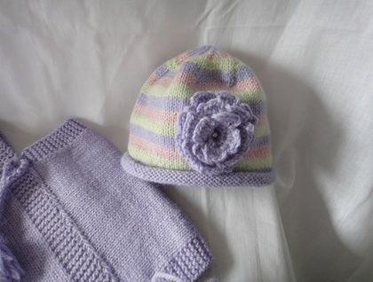 Baby Knit Beanie 3 - 9 months