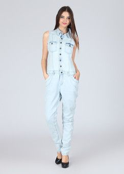 Elle Solid Women's Jumpsuit: Jumpsuit