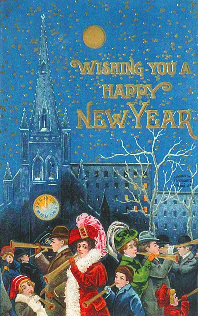 Happy New Year, ca. 1900s