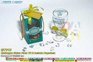 Undangan Gelas Firna TH 9 Include Paperbox WA/SMS/TELP: 0896-3012-3779 #undangangelas #undanganpernikahan #gelasmotif #gelaspernikahan #gelasberkaki #gelasbening #gelaskaca #gelasunik #gelasCantik #hargaGelas #UndanganGelas #JualGelas #souvenirMurah #souvenirPernikahan