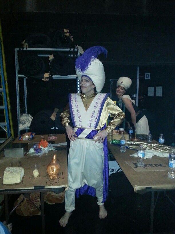 Prince Ali - comédie musicale Aladdin au théâtre Lionel groulx - janvier 2016