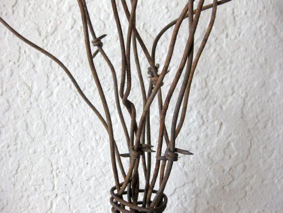 Arte de la pared del árbol recuperado granero por PhloxRiverStudio