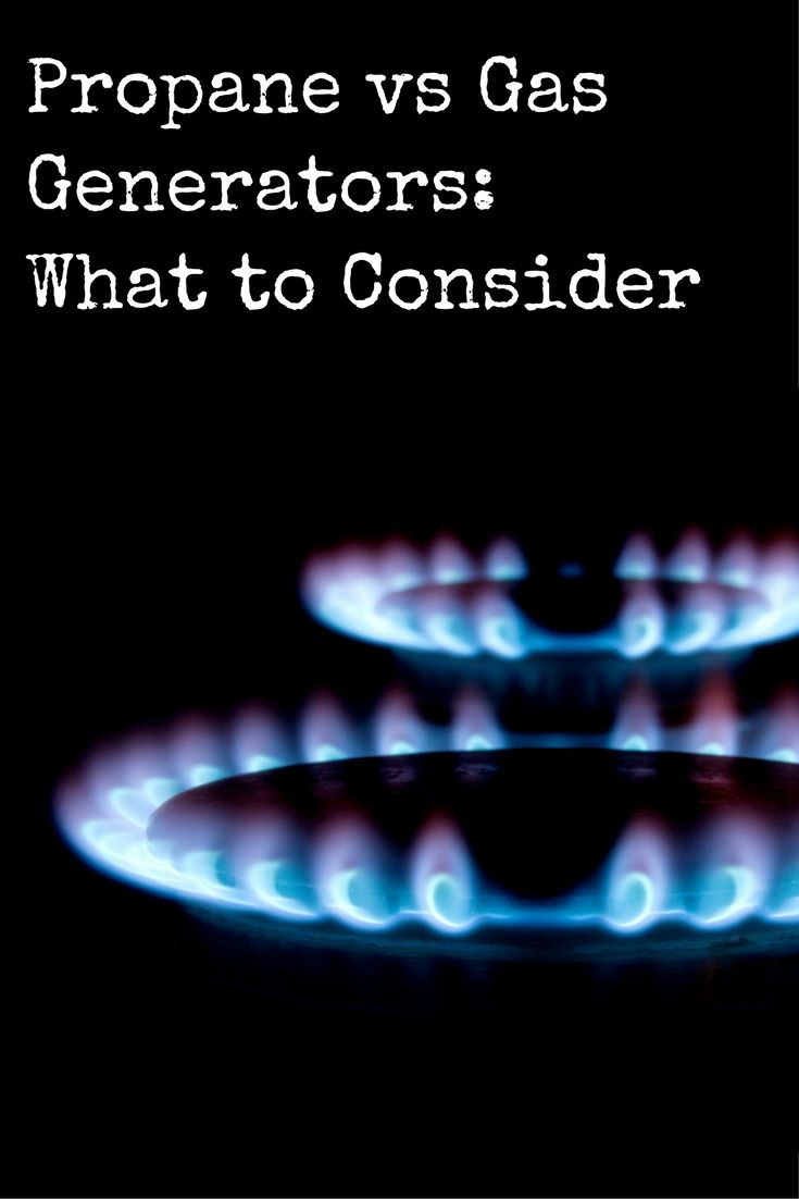 Power generators are a must-have in times of crises, and there are certainly lots of options out there. In this article, we compare propane vs gas generators to see which one wins out in terms of usability, storage, and delivery!   Propane vs Gas Generators: What to Consider https://www.backdoorsurvival.com/propane-vs-gas-generators-what-to-consider/