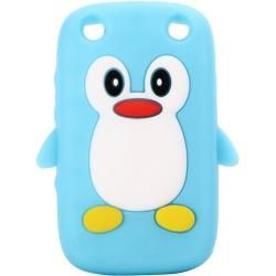 Capa BlackBerry 9320 - Gel Pinguino Azul - 5,99 €