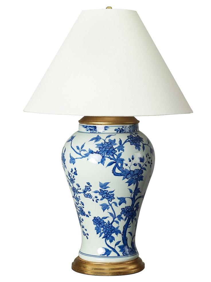 Ralph Lauren Blue Porcelain Table Lamp