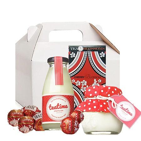 Cherry Pie Tea Time Pamper Hamper | Gift Delivery Australia Wide $60.00