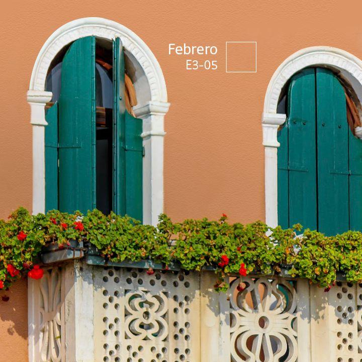 Si las características de tu casa lo permiten, juega con los #COLORES de la fachada, marcos y puertas.