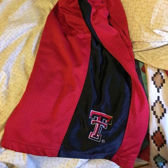 ladies shorts Texas Tech ladies basketball shorts. worn few times. Shorts