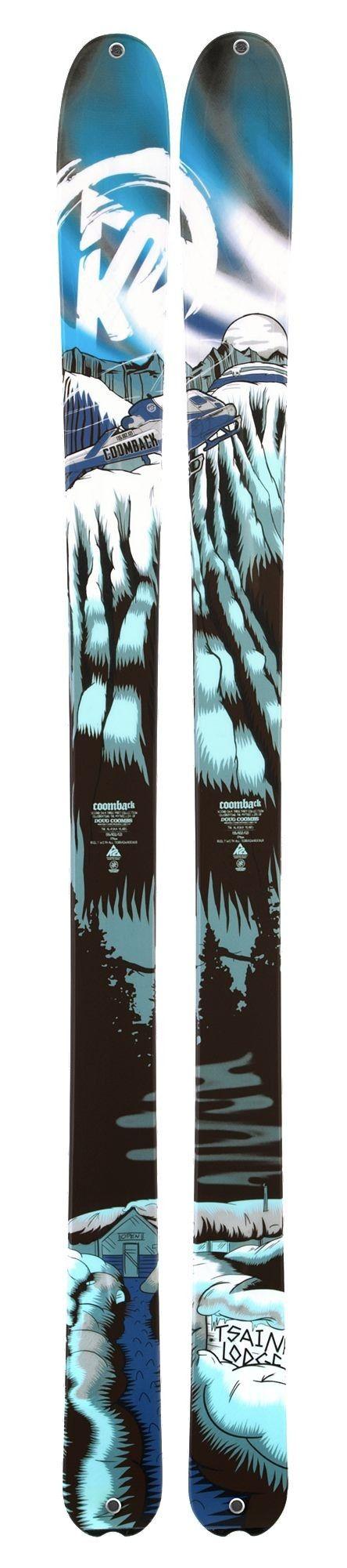 #SKIS #FREERIDE: K2 Coomback 181. Si te gusta subir, pero disfrutar de la bajada, aquí tienes una de las mejores armas del mercado! Entra y conoce todo su potencial!! via @Yoruva Ski Surf Shop