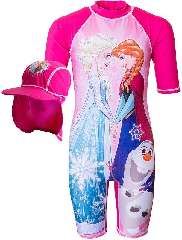 Disney Frozen, Uv-dräkt, Rosa Badedragter & bikinies - Lekmer.dk – Baby og Børnetøj på nettet.