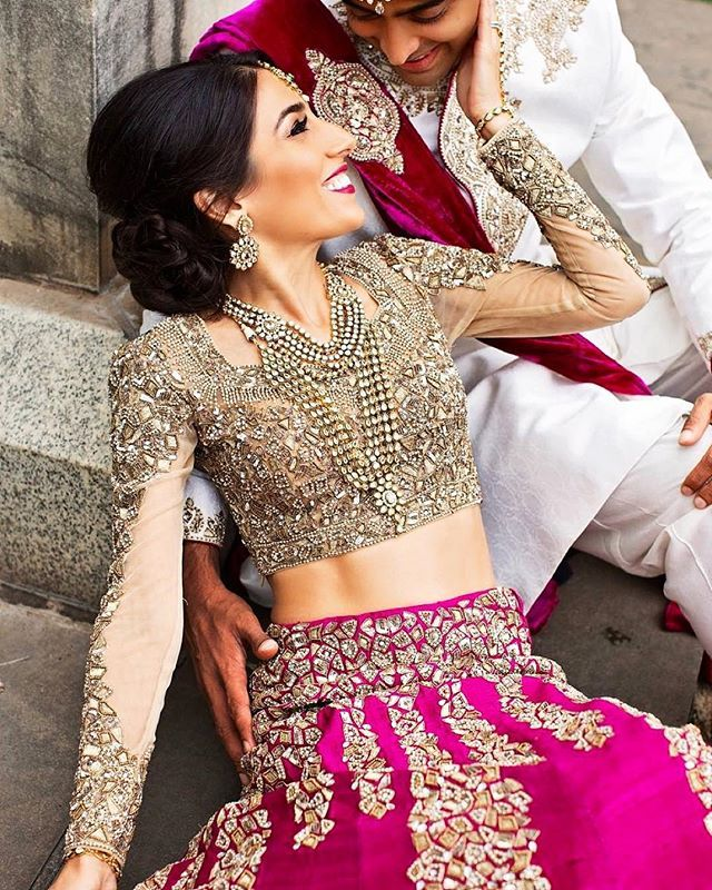 Omg gorgeous !! Photography by: @ragartistry Outfit by: Image Boutique Shop by Surinder Bedi #indian_wedding_inspiration