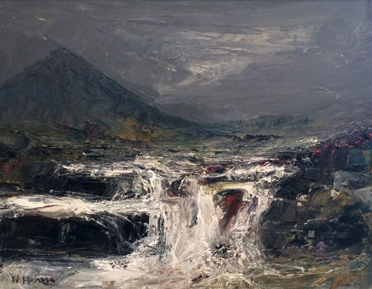 Nael Hanna The Highland Footprint Oils | Scottish Contemporary Art