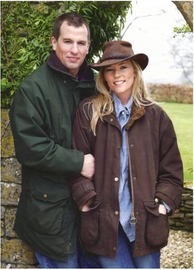 Peter Phillips with his Canadian wife Autumn. They married in 2008 at Windsor Caste and have two daughters, Savannah and Isla. Autumn had to convert from Catholicism in order for Peter to retain his position in the line of succession.