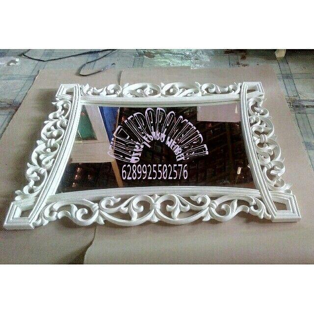 Cermin hias  Open order_Ajm  Wa :089625502576  Kami adlh produsen produk furniture yang jg menerima pesanan custom desain sendiri dan kami mengutamakan kwalitas brang yg kami produksi