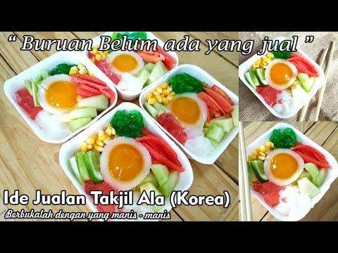 Jualan Ini Di Bulan Puasa Es Buah Ala Korea Bibimbab Belum Ada Yang Jual Youtube Ide Makanan Resep Labu Kuning Resep Makanan