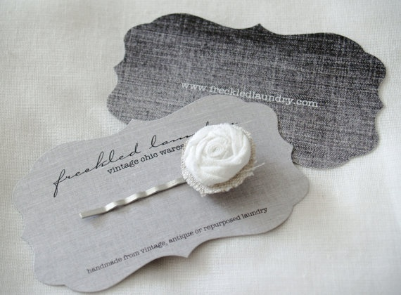 designed tags for freckledlaundry.com