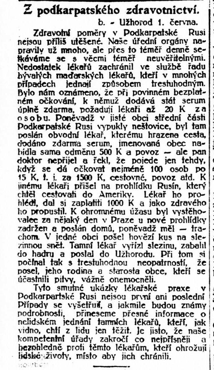 Lidové noviny,  4.7.1921