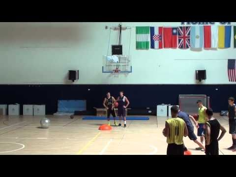 basketball proprioception 1 - YouTube