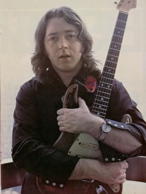 Rory was truly one with his instrument - here clutching his '61 Strat.