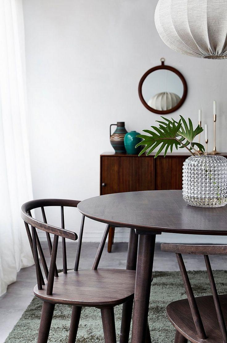 Ellos Home Köksbord Jolina Ø 106 cm - Brun - Hem & inredning - Ellos.se