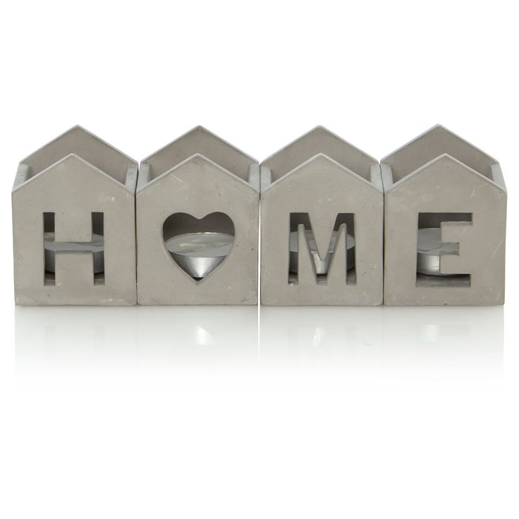 Buy George Home Cement House Tealight Holders from our Candles & Holders range today from ASDA Direct.