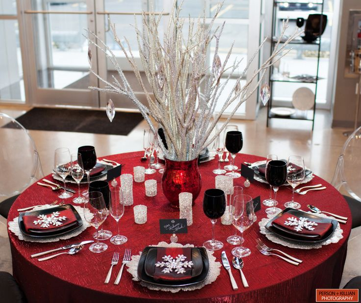 Elegant Christmas Themes: 1000+ Images About Black And White Table Dreams On