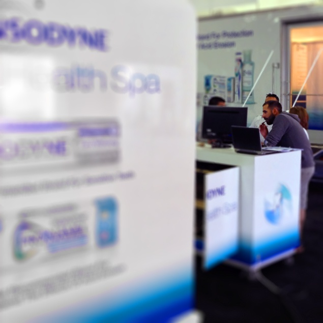 Sensodyne's Road Team in the house for training