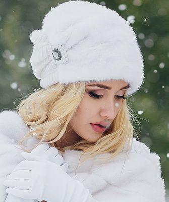 Модные меховые женские шапки 2016-2017 и фото шапок на осень и зиму