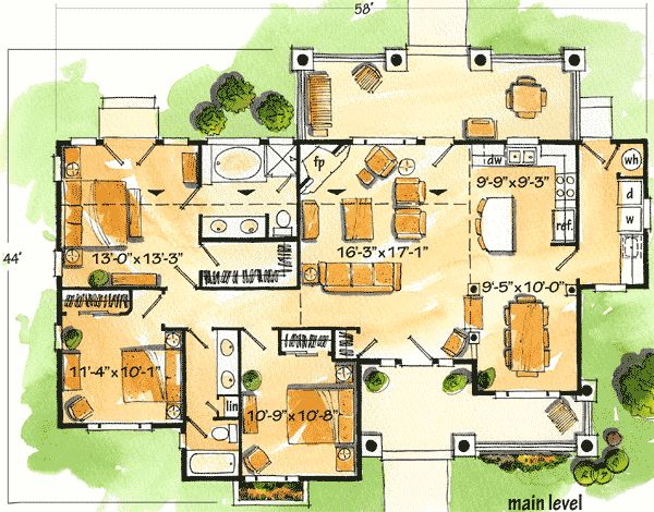 great house plan