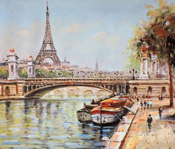 Pinturas da Torre Eiffel