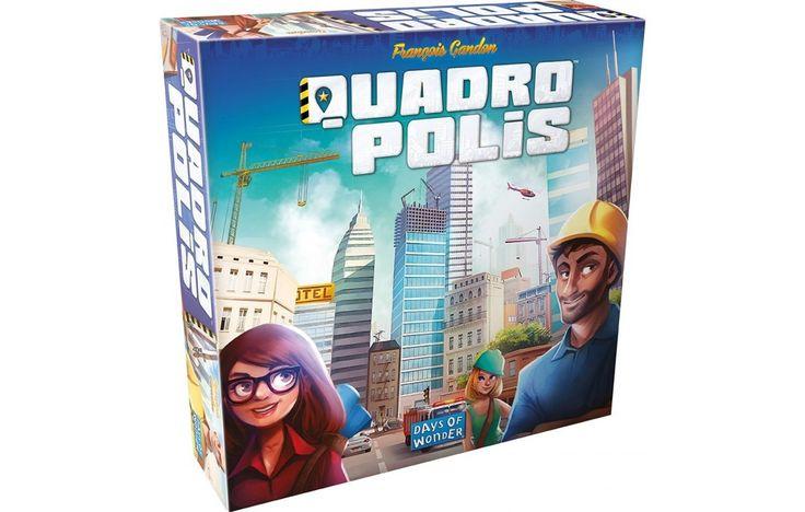 Quadropolis városépítő társasjáték 8 éves kortól - Days of Wonder