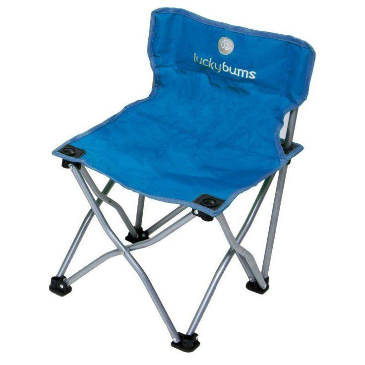 Outdoor Lucky Bums Kids Camp Chair - Blue - 187BL