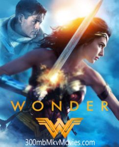Wonder Woman Hindi Dubbed Dual Audio Movie 300mb