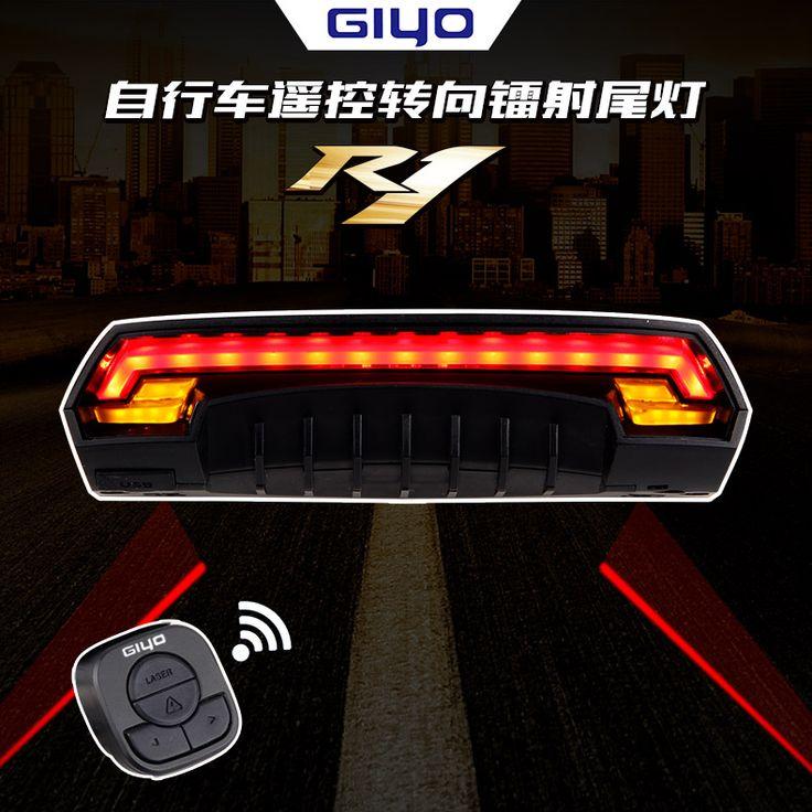 GIYO Bezprzewodowa tylna lampka rowerowa ze światłami kierunkowskazu sterowanymi z kierownicy. Dodatkowo świetna funkcja wyznaczania obszaru laserowo. Bezpieczeństwo ponad wszystko. Świetna cena prosto z Chin.