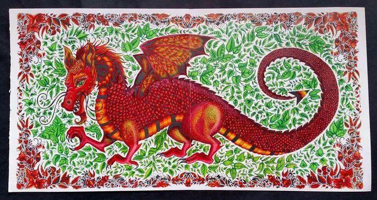 enchanted forest dragon original - photo #8