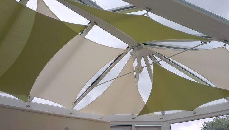 Conservatory Roof Sails Google Search Sun Block