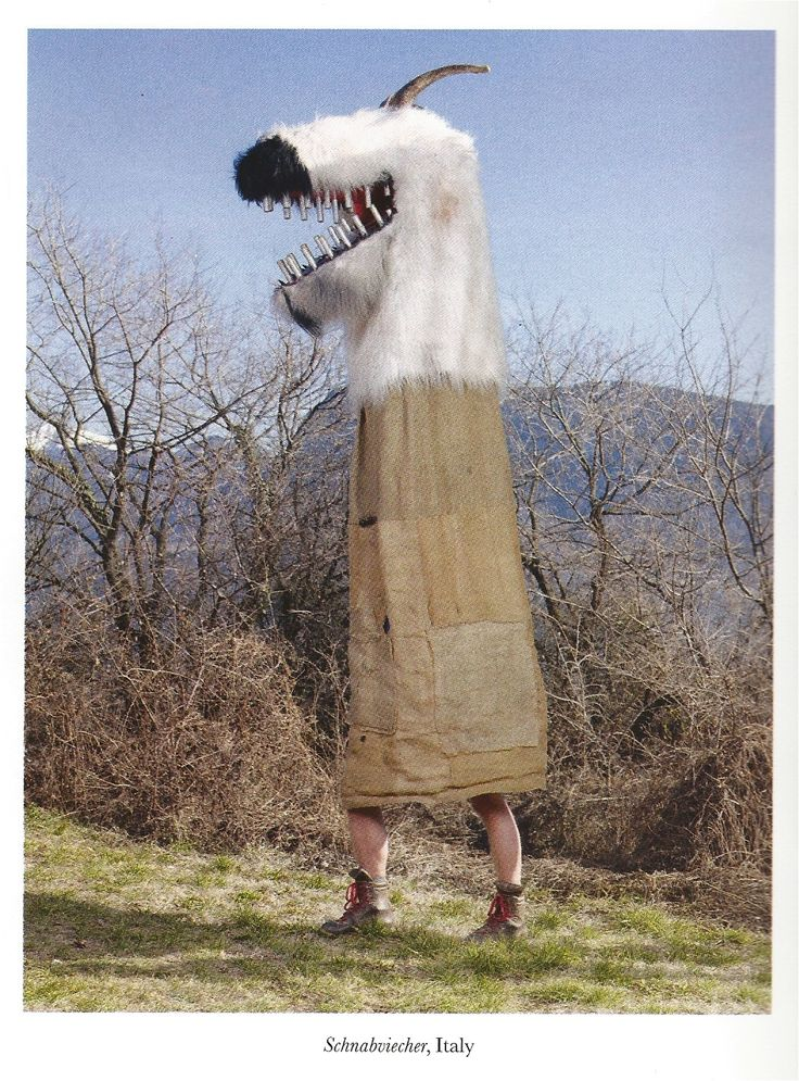 Wilder Mann series, Charles Freger: Idea, Ritual Costumes, Animal