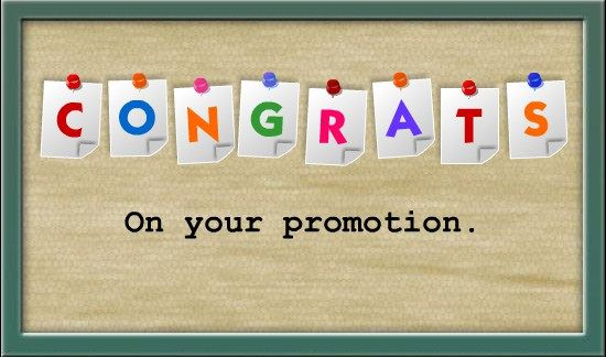 Congratulations Wishes On Promotion /Messages 1 Wishes on