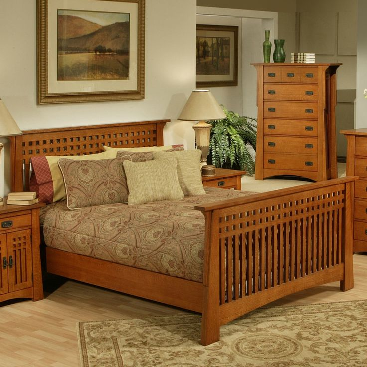 solid wood bedroom furniture have wood bed frame between lampshades on wood  nightstand and wood bedroom