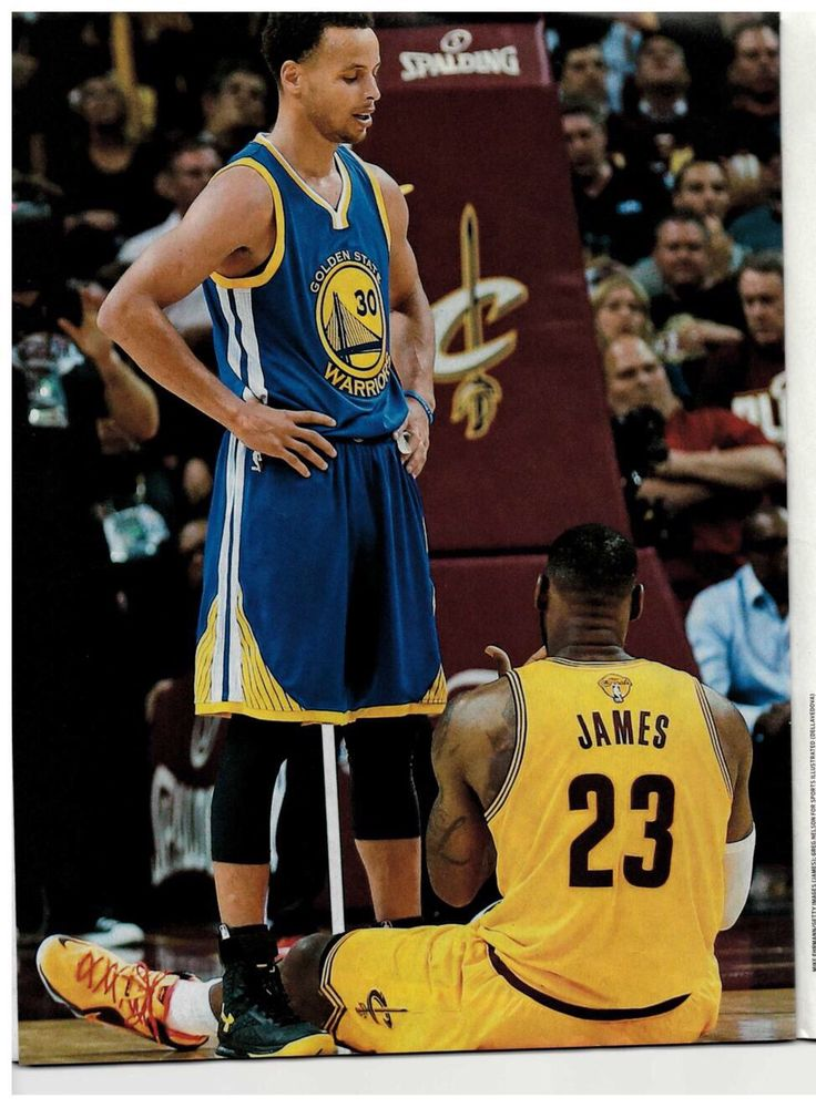 LeBron is Lazy Curry never gets tired Who\u0027s better (curry is so much better)