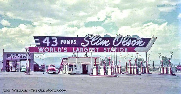 Sunday Edition No XIII – Slim Olson's Gas Station – A Monowheel – The Holmes Universal Auto-Lift | The Old Motor