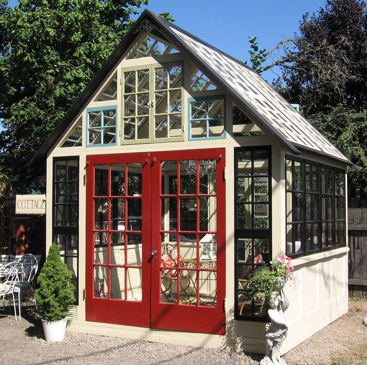 1000 Ideas About Old Window Greenhouse On Pinterest