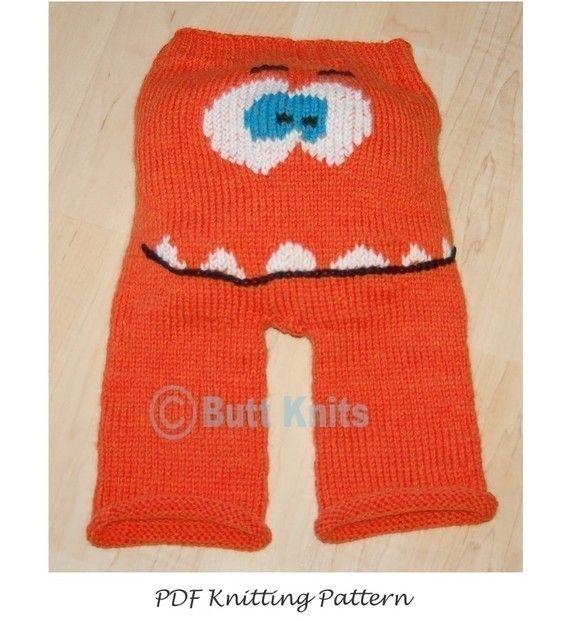 PDF Knitting Pattern Bundle - Butt Knits Basic Longies and Gossamer Face