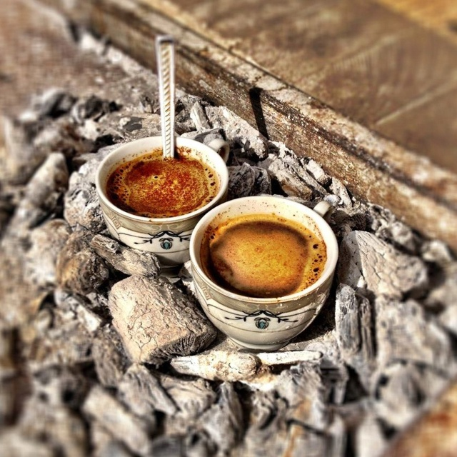 The real Turkish Coffee in Gaziantep - Turkey