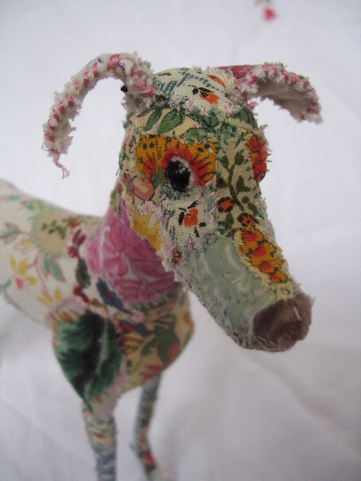 Pretty Scruffy - The Textile Menagerie