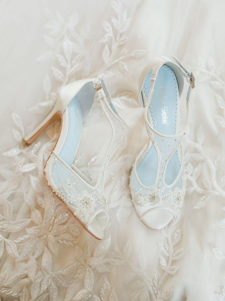 Bella Belle Bridal Shoes #bridalshoes @weddingchicks