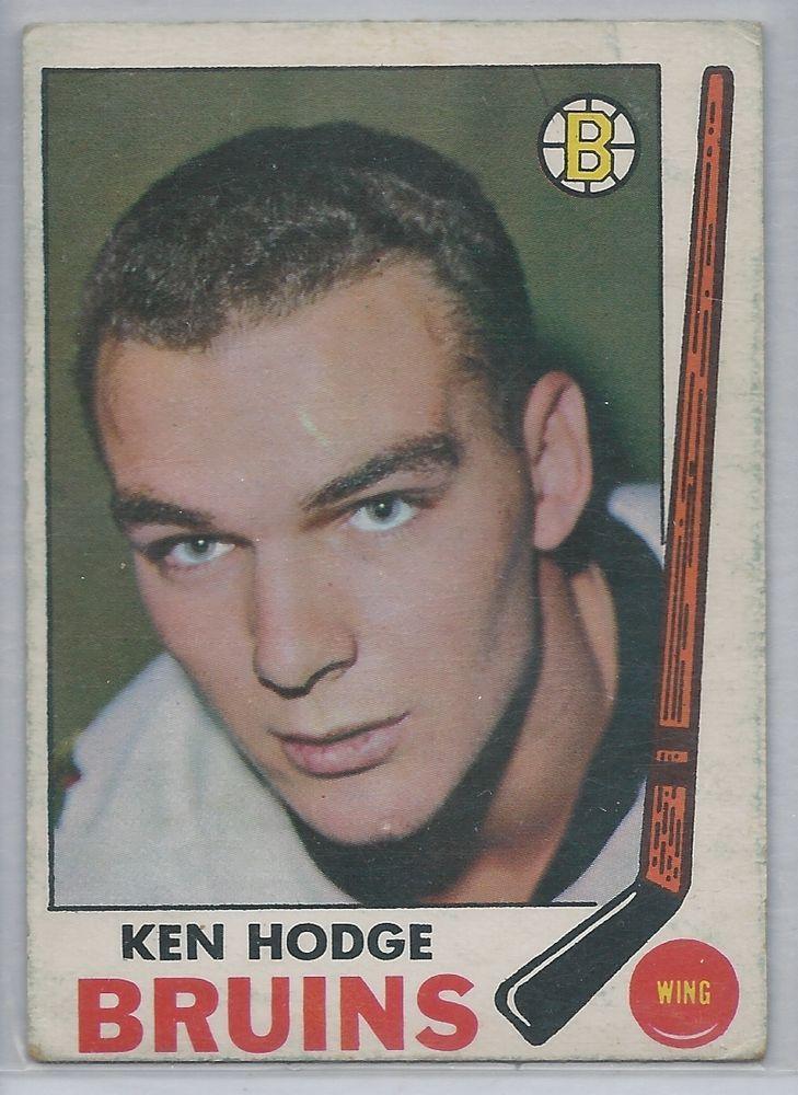 Ken Hodge 1969-70OPC  Hockey Card # 27 Boston Bruins