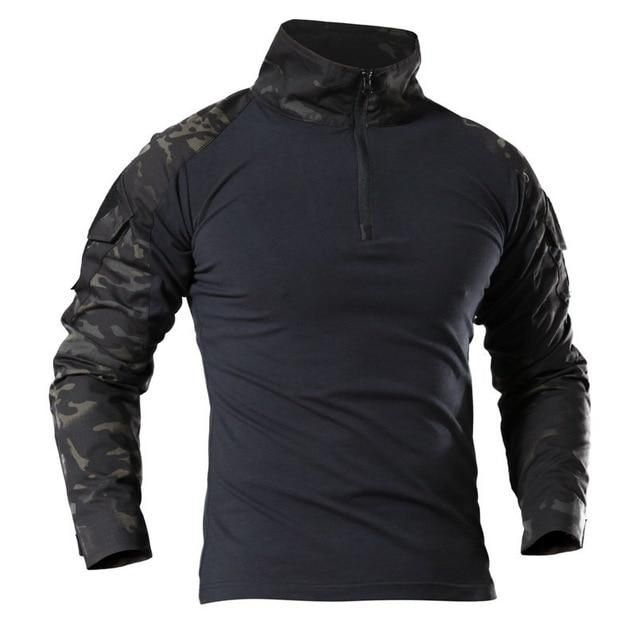 Brand Name: WOYYHOOrigin: CN(Origin)Gender: MENSleeve Length(cm): FullMaterial: PolyesterMaterial: NylonModel Number: SE10115Sport Type: Camping & HikingFit: Fits true to size, take your normal sizeFeature: Anti-PillingFeature: Anti-ShrinkFeature: BreathableFeature: Quick DryItem Type: ShirtsFabric Type: BroadclothMaterial Technology: MAX PROTECTONSize: M,L,XL,XXL,3XL,4XLColor: Black,Army Green,Black CP,MC Tactical T Shirts, Tactical Jacket, Tactical Clothing, Tactical Gear, Tactical Uniforms, Tactical Training, Army Shirts, Sports Shirts, Casual Outfits